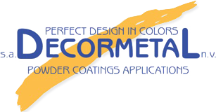 decormetal powder coatings applications