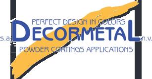 decormetal powder coatings applications